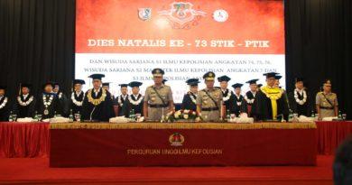Kapolri Berharap Lulusan STIK Miliki Jiwa Strong Leader