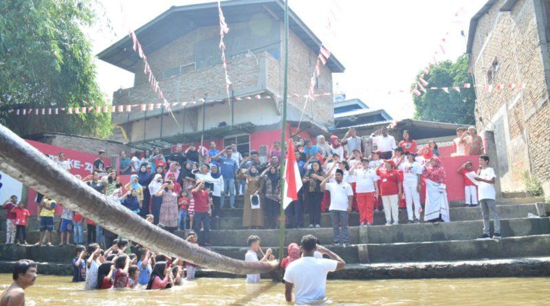 Di Medan Warga Gelar Upacara Kemerdekaan di Sungai Deli