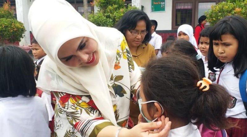Peringatan HCTPS Sedunia, Hj.Fitriani : Anak-Anak Harus Terbiasa Mencuci Tangan