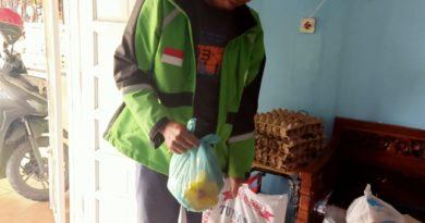 Di Perumahan Graha Deli Permai Warga yang Terimbas Penanganan Wabah Corona Dapat Bantuan
