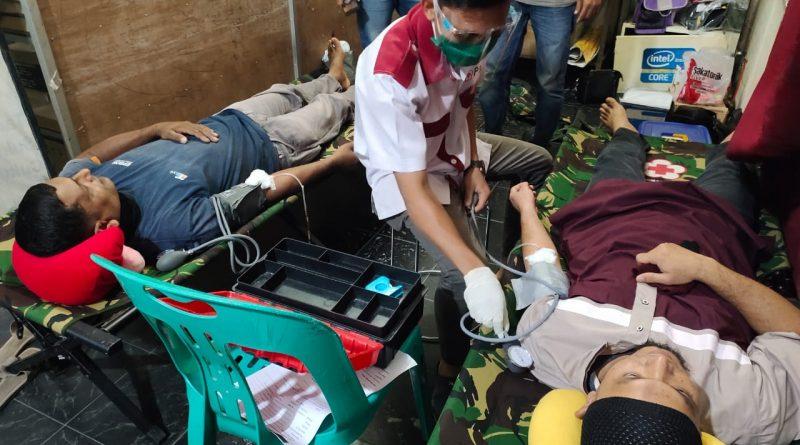 PMI Dan F3I Computer Lakukan Donor Darah, Berhasil Terkumpul 9 Kantong