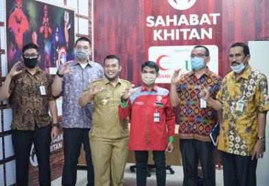 BSMI-UPZ Bank Sumut Launching Program Sosial Kemitraan Sahabat Khitan