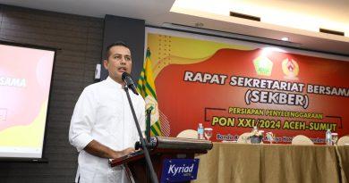 PON XXI 2024 Aceh-Sumut Pertama Kalinya Dua Provinsi Jadi Tuan Rumah PON