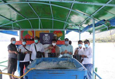 Regal Springs Indonesia Tabur Seribu Benih Tilapia