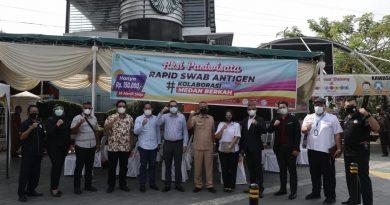 Pemko Medan Gelar Aksi Pariwisata Rapid Test Swab Antigen