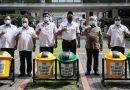 Seratusan Tong Sampah Diserahkan PT. Musim Mas Untuk Pemko Medan