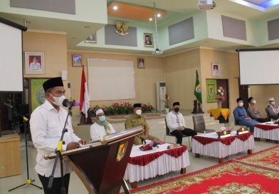 Bupati Sergai Lepas Tim Safari Ramadhan 1442 Hijriah