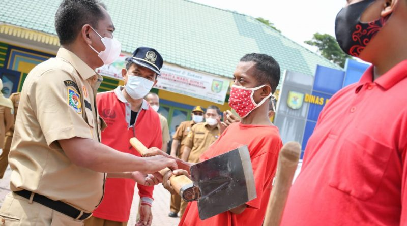 Keberadaan Pasukan Merah Diharapkan Dapat Mewujudkan Sergai yang Bersih