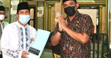 Wali Kota Medan Canangkan Masjid Mandiri
