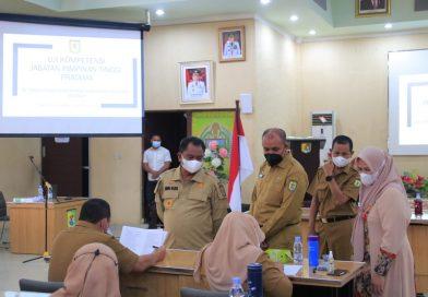 Bupati Sergai Tinjau Pelaksanaan Uji Kompetensi JPT Pratama