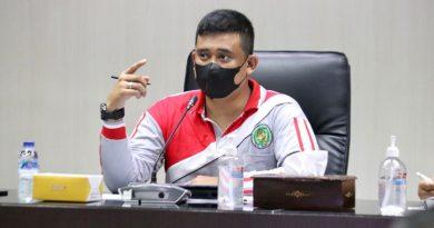 Bobby Nasution Pimpin Rapat Bahas Masalah Jalan Nippon Medan Marelan
